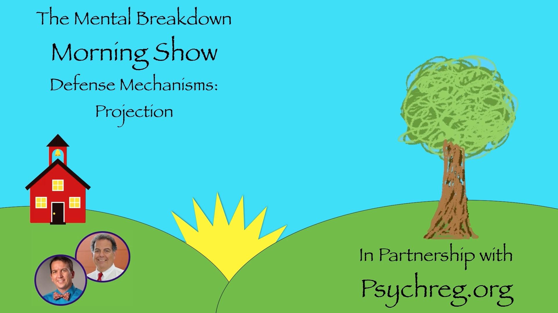 Defense Mechanisms Projection The Mental Breakdown